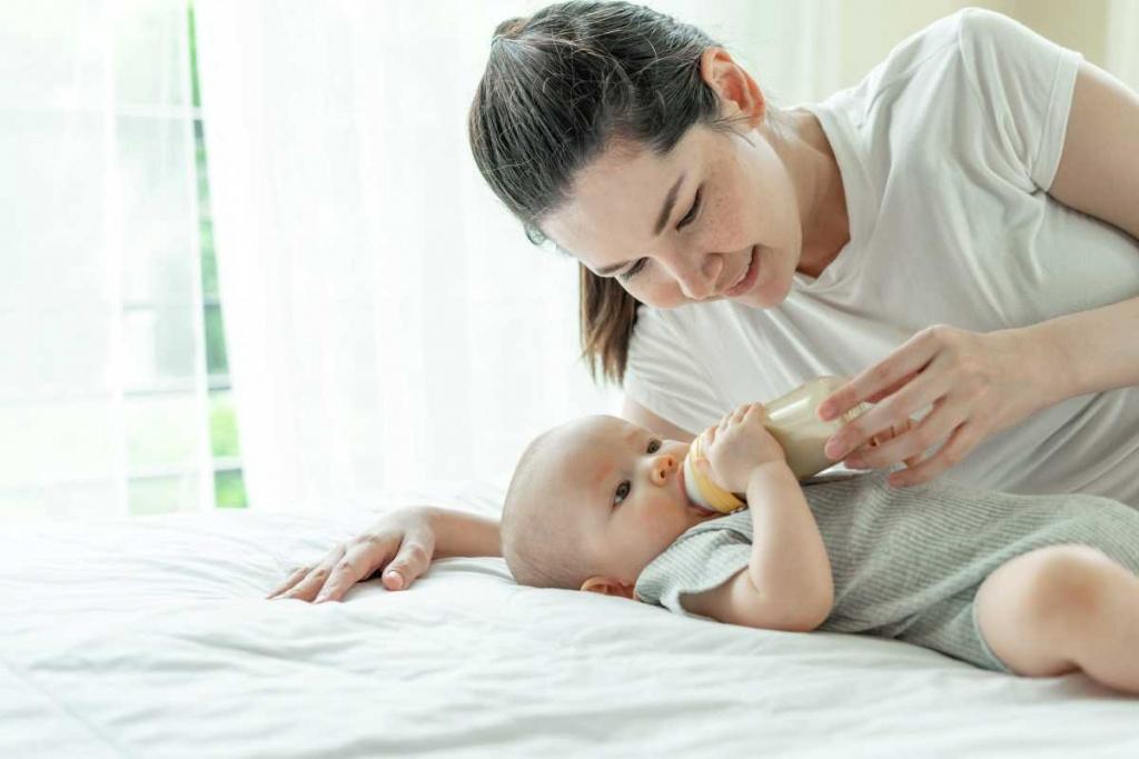 bebeklerde ek gıdaya geçiş tablosu